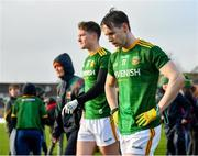 9 February 2020; Bryan McMahon of Meath following his side's defeat during the Allianz Football League Division 1 Round 3 match between Meath and Mayo at Páirc Tailteann in Navan, Meath. Photo by Seb Daly/Sportsfile
