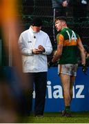 9 February 2020; David Clifford of Kerry remonstrates with the sideline official after being sent off during the Allianz Football League Division 1 Round 3 match between Tyrone and Kerry at Edendork GAC in Dungannon, Co Tyrone. Photo by David Fitzgerald/Sportsfile