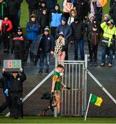 9 February 2020; David Clifford of Kerry leaves the field after being sent off during the Allianz Football League Division 1 Round 3 match between Tyrone and Kerry at Edendork GAC in Dungannon, Co Tyrone. Photo by David Fitzgerald/Sportsfile