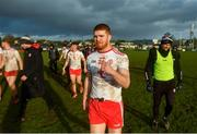 9 February 2020; Cathal McShane of Tyrone celebrates following the Allianz Football League Division 1 Round 3 match between Tyrone and Kerry at Edendork GAC in Dungannon, Co Tyrone. Photo by David Fitzgerald/Sportsfile