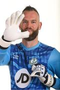 6 February 2020; Alan Mannus during Shamrock Rovers squad portraits at Tallaght Stadium in Dublin. Photo by Matt Browne/Sportsfile