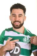 6 February 2020; Roberto Lopes during Shamrock Rovers squad portraits at Tallaght Stadium in Dublin. Photo by Matt Browne/Sportsfile