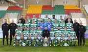 6 February 2020; Shamrock Rovers players and staff at Tallaght Stadium in Dublin. Photo by Matt Browne/Sportsfile