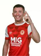 6 February 2020; James Doona during St. Patrick's Athletic squad portraits at Richmond Park in Dublin. Photo by Seb Daly/Sportsfile