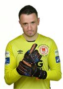 6 February 2020; Brendan Clarke during St. Patrick's Athletic squad portraits at Richmond Park in Dublin. Photo by Seb Daly/Sportsfile