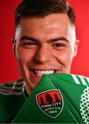 7 February 2020; Charlie Fleming during a Cork City Squad Portraits Session at Bishopstown Stadium in Cork. Photo by Eóin Noonan/Sportsfile