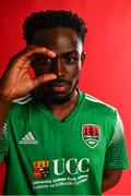 7 February 2020; Henry Ochieng during a Cork City Squad Portraits Session at Bishopstown Stadium in Cork. Photo by Eóin Noonan/Sportsfile