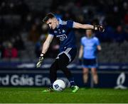 8 February 2020; Evan Comerford of Dublin during the Allianz Football League Division 1 Round 3 match between Dublin and Monaghan at Croke Park in Dublin. Photo by Ray McManus/Sportsfile