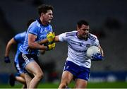 8 February 2020; Ryan Wylie of Monaghan is tackled by Liam Flatman of Dublin during the Allianz Football League Division 1 Round 3 match between Dublin and Monaghan at Croke Park in Dublin. Photo by Ray McManus/Sportsfile