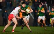 9 February 2020; Paul Geaney of Kerry in action against Conor Meyler of Tyrone during the Allianz Football League Division 1 Round 3 match between Tyrone and Kerry at Edendork GAC in Dungannon, Co Tyrone. Photo by David Fitzgerald/Sportsfile