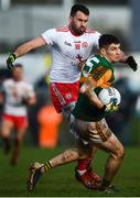 9 February 2020; Paul Geaney of Kerry in action against Kyle Coney of Tyrone during the Allianz Football League Division 1 Round 3 match between Tyrone and Kerry at Edendork GAC in Dungannon, Co Tyrone. Photo by David Fitzgerald/Sportsfile