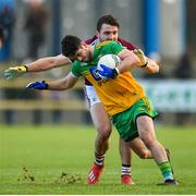 9 February 2020; Ryan McHugh of Donegal in action against Damien Comer of Galway during the Allianz Football League Division 1 Round 3 match between Donegal and Galway at O'Donnell Park in Letterkenny, Donegal. Photo by Oliver McVeigh/Sportsfile
