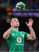8 February 2020; John Cooney of Ireland during the Guinness Six Nations Rugby Championship match between Ireland and Wales at Aviva Stadium in Dublin. Photo by Brendan Moran/Sportsfile