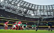 8 February 2020; The Ireland pack engage a maul on the way to scoring their side's third try, scored by Josh van der Flier, during the Guinness Six Nations Rugby Championship match between Ireland and Wales at Aviva Stadium in Dublin. Photo by Brendan Moran/Sportsfile