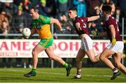 9 February 2020; Michael Murphy of Donegal in action against Sean Mulkerrin of Galway during the Allianz Football League Division 1 Round 3 match between Donegal and Galway at O'Donnell Park in Letterkenny, Donegal. Photo by Oliver McVeigh/Sportsfile