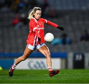 8 February 2020; Orla Finn of Cork during the Lidl Ladies National Football League Division 1 Round 3 match between Dublin and Cork at Croke Park in Dublin. Photo by Ray McManus/Sportsfile