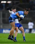 8 February 2020; James McCarthy of Dublin in action against Darren Hughes of Monaghan during the Allianz Football League Division 1 Round 3 match between Dublin and Monaghan at Croke Park in Dublin. Photo by Seb Daly/Sportsfile