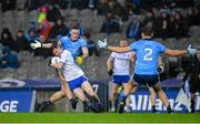8 February 2020; Karl O'Connell of Monaghan in action against Brian Fenton of Dublin during the Allianz Football League Division 1 Round 3 match between Dublin and Monaghan at Croke Park in Dublin. Photo by Seb Daly/Sportsfile