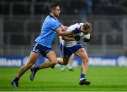 8 February 2020; Conor Boyle of Monaghan in action against James McCarthy of Dublin during the Allianz Football League Division 1 Round 3 match between Dublin and Monaghan at Croke Park in Dublin. Photo by Seb Daly/Sportsfile