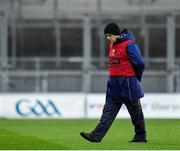 8 February 2020; Cork manager Ephie Fitzgerald during the Lidl Ladies National Football League Division 1 Round 3 match between Dublin and Cork at Croke Park in Dublin. Photo by Seb Daly/Sportsfile