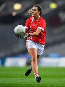 8 February 2020; Orlagh Farmer of Cork during the Lidl Ladies National Football League Division 1 Round 3 match between Dublin and Cork at Croke Park in Dublin. Photo by Seb Daly/Sportsfile