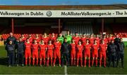 8 February 2020; Shelbourne team photo during a Shelbourne FC squad portraits session at Tolka Park in Dublin. Photo by Seb Daly/Sportsfile