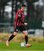 8 February 2020; Sam Verdon of Longford Town during the pre-season friendly match between Cork City and Longford Town at Cork City training ground in Bishopstown, Cork. Photo by Eóin Noonan/Sportsfile