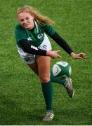 9 February 2020; Kathryn Dane of Ireland during the Women's Six Nations Rugby Championship match between Ireland and Wales at Energia Park in Dublin. Photo by Ramsey Cardy/Sportsfile