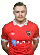 8 February 2020; Georgie Poynton during a Shelbourne FC squad portraits session at Tolka Park in Dublin. Photo by Seb Daly/Sportsfile