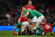 8 February 2020; John Cooney of Ireland during the Guinness Six Nations Rugby Championship match between Ireland and Wales at Aviva Stadium in Dublin. Photo by David Fitzgerald/Sportsfile