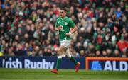 8 February 2020; Jonathan Sexton of Ireland during the Guinness Six Nations Rugby Championship match between Ireland and Wales at Aviva Stadium in Dublin. Photo by David Fitzgerald/Sportsfile