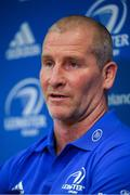 10 February 2020; Senior coach Stuart Lancaster during a Leinster Rugby press conference at Leinster Rugby Headquarters in UCD, Dublin. Photo by Ramsey Cardy/Sportsfile