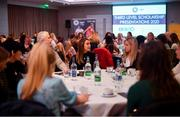 10 February 2020; The Women's Gaelic Players Association, WGPA, presented 55 third-level scholarships. The awards were made to intercounty Camogie and Ladies Football players from 37 squads attending 18 different colleges. The scholarship scheme recognises the efforts of WGPA members in pursuing their dual career, supporting them to reach their potential both as students and athletes. A general view during the ceremony at the Castleknock Hotel, Dublin. Photo by David Fitzgerald/Sportsfile