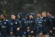 10 February 2020; Hugo Keenan and his Leinster team-mates during Leinster Rugby squad training at UCD, Dublin. Photo by Ramsey Cardy/Sportsfile
