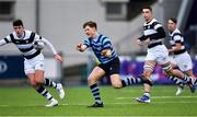 10 February 2020; Louis McDonough of St Vincent's Castleknock College during the Bank of Ireland Leinster Schools Senior Cup Second Round match between Belvedere College and St Vincent's Castleknock College at Energia Park in Dublin. Photo by Piaras Ó Mídheach/Sportsfile