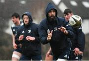 10 February 2020; Scott Fardy during Leinster Rugby squad training at UCD, Dublin. Photo by Ramsey Cardy/Sportsfile