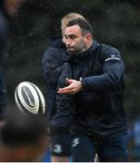 10 February 2020; Dave Kearney during Leinster Rugby squad training at UCD, Dublin. Photo by Ramsey Cardy/Sportsfile