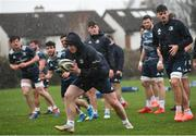 10 February 2020; Peter Dooley during Leinster Rugby squad training at UCD, Dublin. Photo by Ramsey Cardy/Sportsfile