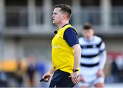 10 February 2020; Referee Marcus Casey during the Bank of Ireland Leinster Schools Senior Cup Second Round match between Belvedere College and St Vincent's Castleknock College at Energia Park in Dublin. Photo by Piaras Ó Mídheach/Sportsfile