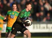 9 February 2020; Shaun Patton of Donegal during the Allianz Football League Division 1 Round 3 match between Donegal and Galway at O'Donnell Park in Letterkenny, Donegal. Photo by Oliver McVeigh/Sportsfile