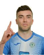 10 February 2020; Leo Donnellan during a Finn Harps Squad Portraits Session at Finn Valley Centre in Stranorlar, Co. Donegal. Photo by Oliver McVeigh/Sportsfile