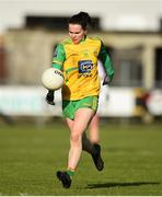 9 February 2020; Geraldine McLaughlin of Donegal during the 2020 Lidl Ladies National Football League Division 1 Round 3 match between Donegal and Galway at O'Donnell Park in Letterkenny, Donegal. Photo by Oliver McVeigh/Sportsfile