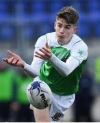 11 February 2020; Eadbhard O'Callaghan of Gonzaga College during the Bank of Ireland Leinster Schools Senior Cup Second Round match between Gonzaga College and St Michaels College at Energia Park in Dublin. Photo by Ramsey Cardy/Sportsfile