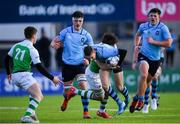11 February 2020; Eddie Kelly of St Michaels College during the Bank of Ireland Leinster Schools Senior Cup Second Round match between Gonzaga College and St Michaels College at Energia Park in Dublin. Photo by Ramsey Cardy/Sportsfile