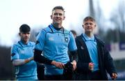 11 February 2020; Eddie Kelly of St Michaels College following the Bank of Ireland Leinster Schools Senior Cup Second Round match between Gonzaga College and St Michaels College at Energia Park in Dublin. Photo by Ramsey Cardy/Sportsfile