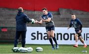 13 February 2020; Jacob Stockdale, centre, and Andrew Conway during Ireland Rugby Squad Training at Irish Independent Park in Cork. Photo by Brendan Moran/Sportsfile