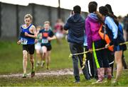 13 February 2020; Ben Walshe of St Josephs CBS Nenagh, Tipperary, competing in the minor boys 2500m race during the Irish Life Health Munster Schools' Cross Country Championships 2020 at Clarecastle in Clare. Photo by Eóin Noonan/Sportsfile