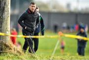 13 February 2020; Irish Olympian Rob Heffernan walking the course prior to the Irish Life Health Munster Schools' Cross Country Championships 2020 at Clarecastle in Clare. Photo by Eóin Noonan/Sportsfile