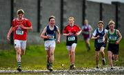13 February 2020; Athletes competing in the junior boys 3500m race during the Irish Life Health Munster Schools' Cross Country Championships 2020 at Clarecastle in Clare. Photo by Eóin Noonan/Sportsfile