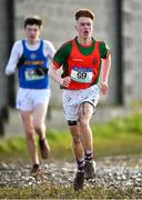 13 February 2020; Jake Baker of Charleville CBS, Cork, competing in the intermediate boys 5000m race during the Irish Life Health Munster Schools' Cross Country Championships 2020 at Clarecastle in Clare. Photo by Eóin Noonan/Sportsfile